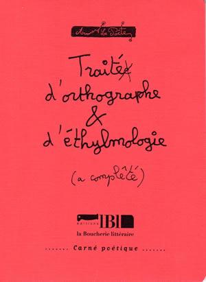 traité orthographe